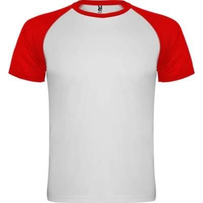 Camiseta indianapolis blanca-roja