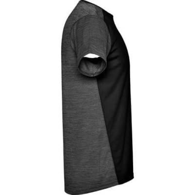 6653 Camiseta técnica Zolder hombre negro-negro lado