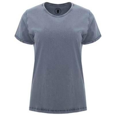 6691 Camiseta Husky woman Roly azul denim