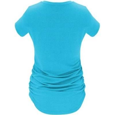 Camiseta deportiva Aintree Roly turquesa espalda