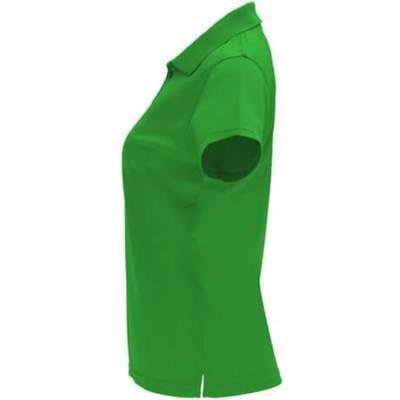 Polo monzha mujer 0410 Roly verde Helecho lado
