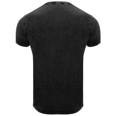 Camiseta Husky hombre Roly negro espalda