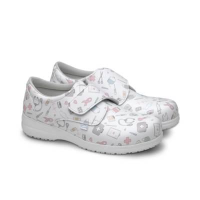 Zapato Sanitario Atom Feliz Caminar Par