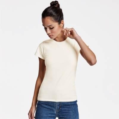 Camiseta Ecológica Certificada Basset Woman Roly